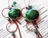 Earful of shells - handmade earrings