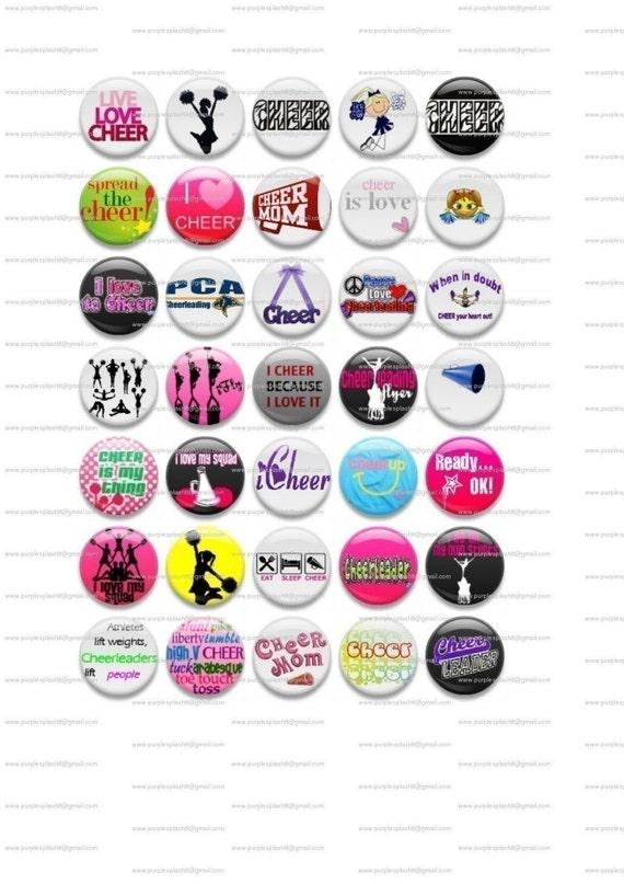 CHEER Round Digital Images