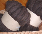 Babydoll lambswool wool roving 4 oz.