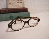 Vintage Mod Professor Eye Glasses