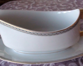 IMPERIAL H & C Selb Bavaria Germany Gravy Boat Bowl Antique Dressing Serving Dish  ON SaLe Now