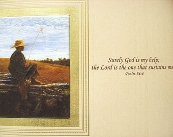 Wall Decor Painting ART  Spiritual Title  On Guard  By  Winslow HOmer  vintage