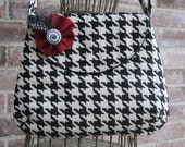 Private listing for Shelliy  for The Concealed Carry Classic Purse in Black and White Houndstooth Check