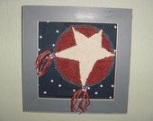 SHOOTING STAR PUNCHNEEDLE
