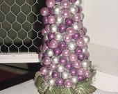 SILVER CRANBERRY   bulb tree    CENTERPIECE