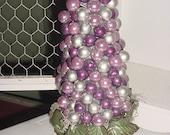 SILVER CRANBERRY   bulb tree    CENTERPIECE