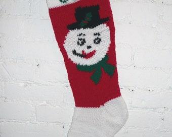 Christmas stocking old fashioned green santa by for Fashion christmas stockings