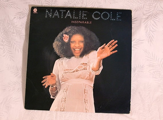 Vintage Natalie Cole Inseparable Vinyl Record Music 1975 Capitol Records