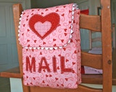 Valentine mailbox chair backer is the perfect Valentine bag for kids