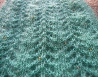 Cleo beaded lace cowl