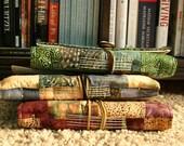 Handbound Batik Journal - Seascape Design