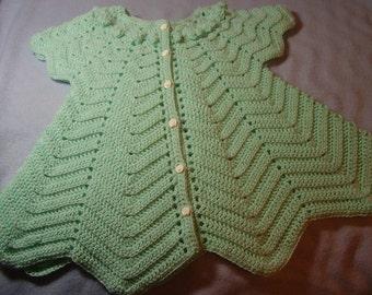 Aqua Baby Dress - 6-9 months