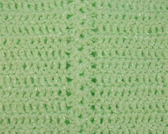Mint Green Baby Car Seat Blanket