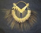 House Blessing. Corizon de trigo  corn dolly. Wheat weaving