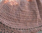Pattern - Half Circle Shawl by Anastacia Knits Designs - pdf crochet pattern only