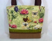 Nature-Themed Zippered Purse, Small