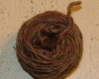 Gingerbread light brown Wool Doll Hair, doll making supplies, wool yarn, gingerbread color