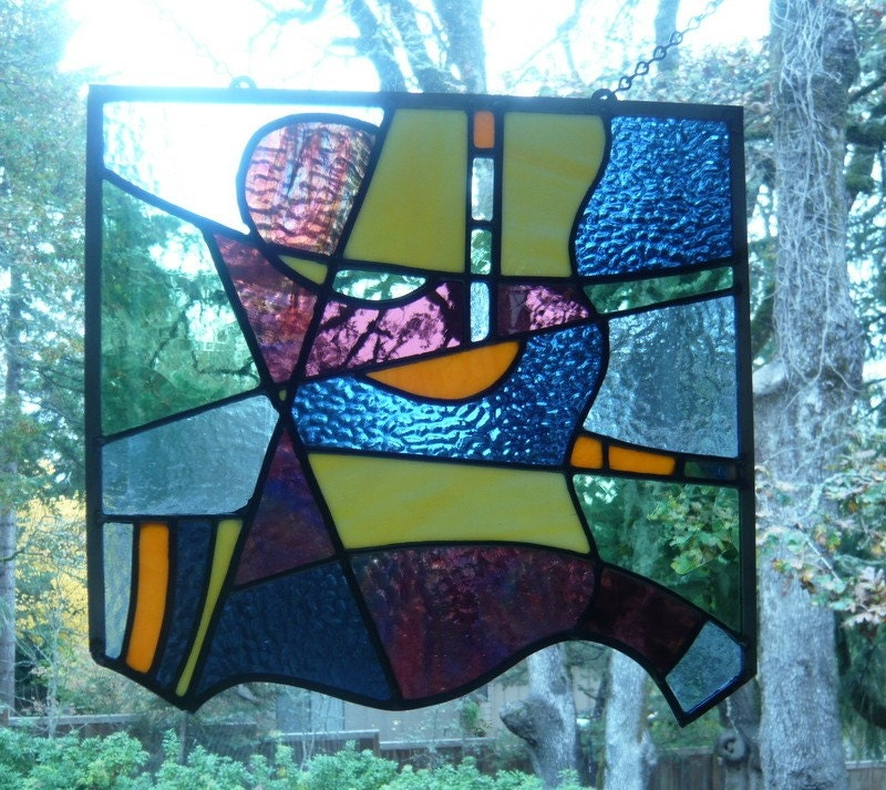 stained glass abstract tiles - photo #38