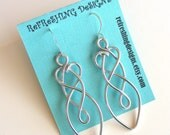 Celtic Friendship Knot Earrings - customize your own color