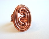 Wire Oval Knot Ring Custom Made