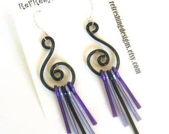 Wind Chime Earrings - Customize Your Own Colors