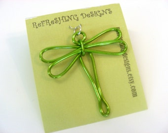Dragonfly Pendant - Choose Your Own Color