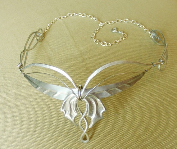 Simple Arwen Butterfly Coronation Crown Circlet