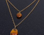 Baltic Amber Double Layered Necklace
