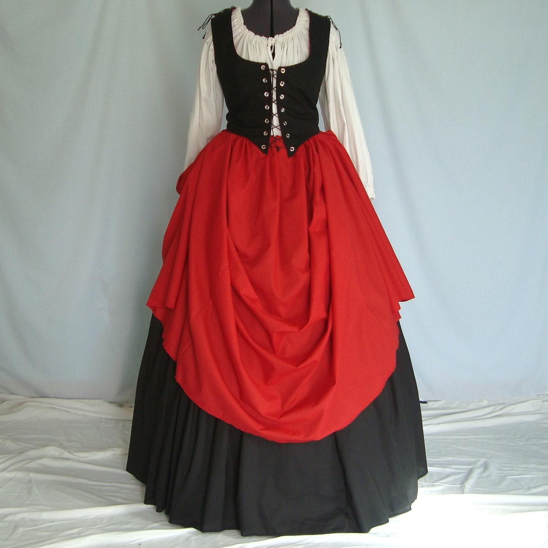 Blouse Dress Fashion Medieval Peasant Renaissance S Woman ...