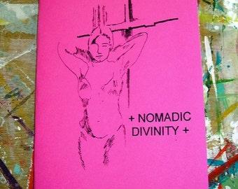 Nomadic Divinity poetry chapbook (pink)
