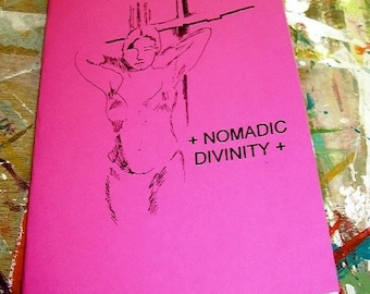 Nomadic Divinity poetry chapbook (pink)