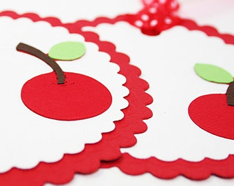 Gift Tag Large Fresh Cherry Tag