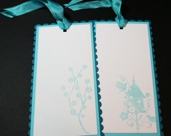 Gift Tag Asian Influence Large - Bookmarks - Wedding