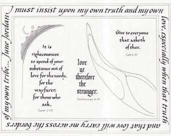 Love Ye the Stranger interfaith cards (box of 12)