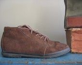 Keds Brown Leather Ankle Boots sz 8.5