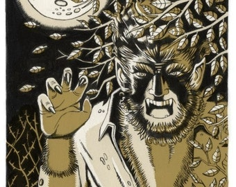 The Wolfman Limited Edition ACEO