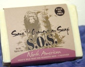 Save the Orangutan Soap, North American Bar, Unscented for sensitive skin, 6 oz