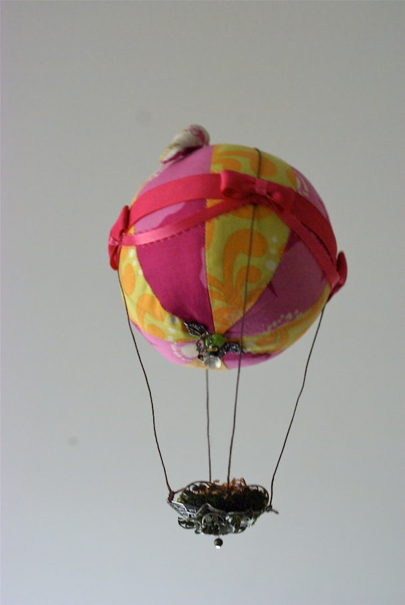 Ornamental Nested Hot Air Balloon (OOAK)