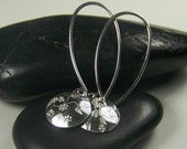 Silver Hooks and Daisys silver earrings order yours own Free US Shipping
