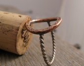 Copper Saddle Ring
