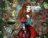 Print - Miss Melancolia