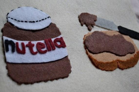 Embroidered Nutella Portrait