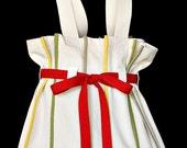 Audrey Canvas Shopping Bag