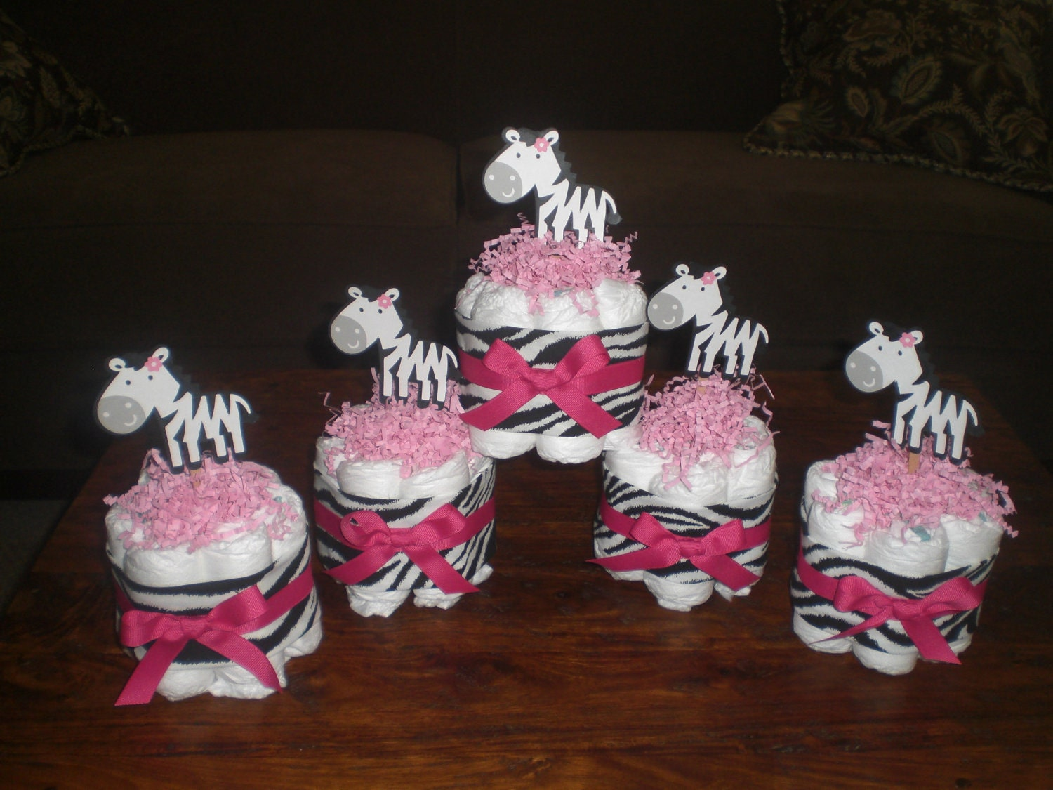 Popular items for zebra and hot pink on Etsy