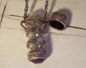 Vintage Potion Bottle Necklace