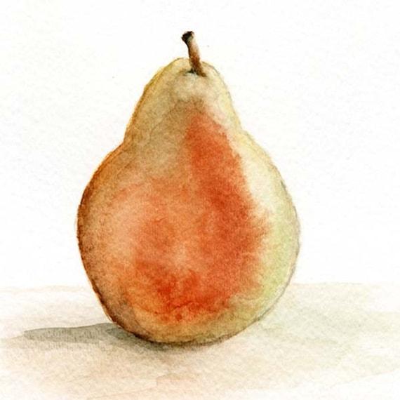 The Pear, print