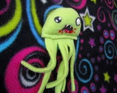 Zombie Jellyfish Plush - You Pick the Color!