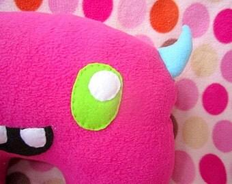 SALE Large Monster Plush - Kawaii Stuffed Toy