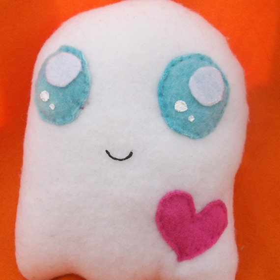 Cute Ghost - Weird Kawaii Plush Toy made to order