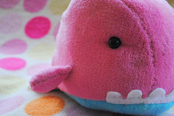 A Whale Named Pancake - Super Soft Cotton Candy Plush